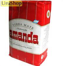 Y42 Yerba Mate Amanda Roja 1kg Con Palos / con tallos té Herbal