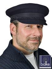 Balke Elbsegler Schurwolle Kapitänsmütze blau Mütze Emssegler Seemannsmütze