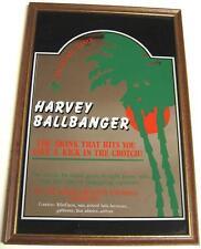 HARVEY BALLBANGER BARSPIEGEL MIT HOLZRAHMEN G