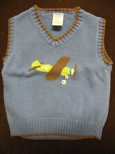 Gymboree Avaitor Blue Sweater Vest, Size 12-18 mos