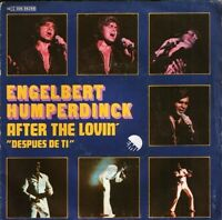 "ENGELBERT HUMPERDINCK after the lovin' 10 C006-98288 spanish emi 7"" PS EX/VG"