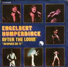 "ENGELBERT HUMPERDINCK after the lovin' 10 C006-98288 spanish emi 7"" PS EX/VG"
