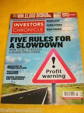 INVESTORS CHRONICLE - POSTCODE ANNUITIES - JUNE 20 2008