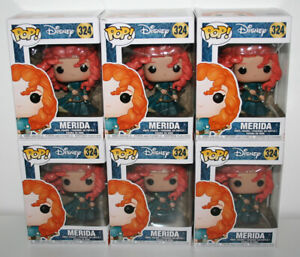Funko Pop! Disney Brave MERIDA #324 Pop! Vinyl Figure NEW - BOX NOT MINT