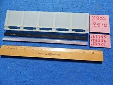 Wurlitzer 2800 2810 Album Holder # 123745 with Filler Strips # 124236 & 123901