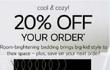 Pottery Barn Kids / PB kids / 1Coupon 20% Entire Purchase