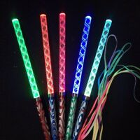 Color Changing LED Magic Glow Wand Flashing Torch Party Concert Light Stick Toy