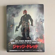 Judge Dredd 2012 (Japan Exclusive) Blu-Ray Steelbook
