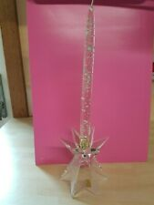 Nachtman single crystal candle holder with candle