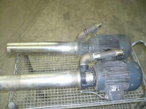 Charmilles Robofil 310 300 510 500 M16 pump, wire edm
