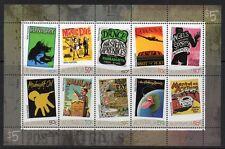 AUSTRALIA SG2683a 2006 ROCK POSTER SHEETLET MNH