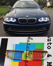 CALANDRA BMW SERIE 3 E46 2001-2005 BERLINA TOURING GRIGLIA ANTERIORE CROMATA