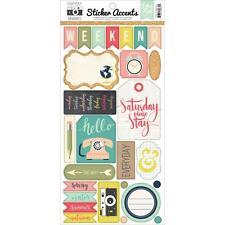 "Echo Park EVERYDAY MEMORIES - 6x12"" Elements sticker sheet - scrapbooking"