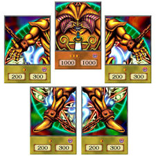 Exodia the Forbidden One Anime Style Orica Set Yu-Gi-Oh Custom Cards Top Quality