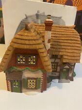 Dept 56 Dickens Village Series 5824-6 Cobb Cottage Used
