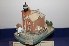 Harbour Lights Lighthouse #171 Saugerties, Ny with orig box Coa & signed