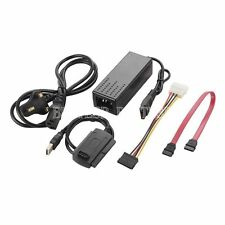 "USB2.0 to SATA IDE 2.5"" 3.5"" External Adapter Transfer Cable Kit Hard Disk Set"