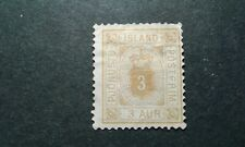 Iceland #O4 unused no gum e208 10672