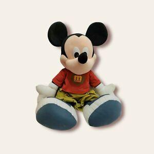"Mickey Mouse 2000 Mattel Fisher-Price JUMBO 26"" Plush BIG & HUGGABLE!"
