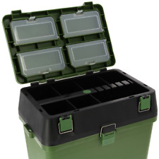 New  NGT Fishing Seat Box System With Intergrated Tackle Boxes Carp Sea Fishing