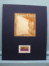 The Birth of Liberty -  the Magna Carta stamp for its 750th Anniversary
