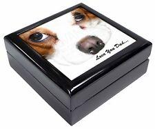 King Charles Spaniel 'Love You Dad' Keepsake/Jewellery Box Christmas , DAD-188JB