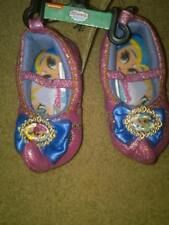 NWT TODDLER GIRLS NICKELODEON SHIMMER & SHINE SLIPPERS FAUX SUPER CUTE S 5-6