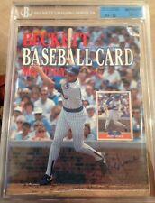Mark Grace + Johnny Bench DUAL SIGNED  Baseball Beckett Magazine March 1989 JSA