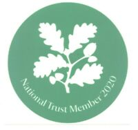 NATIONAL TRUST Car Park sticker 2020 (BRAND NEW)