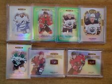 2019-20 UD Stature NHL RC Lot (7) #/d, Auto- Dach, Persson, Verhaeghe