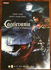 Castlevania PS3 XBox 360 Genuine Official Video Game Promo Poster 43x60cm #2