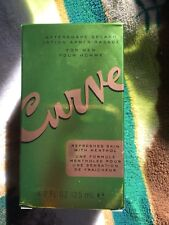 CURVE BY LIZ CLAIBORNE AFTER SHAVE SPLASH FOR MEN~~4.2 OZ~~NEW IN BOX!!!!
