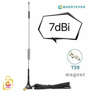 TS9 Plug 7dBi 4G LTE Antenna Magnetic Base Wireless Signal Booster AU STOCK