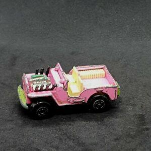 Matchbox Superfast Jeep Hot Rod MB2 Vintage Die-Cast Vehicle 1970s Lesney