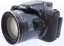 Nikon COOLPIX P520 18.1MP Digital Camera - Grey *TESTED & FULLY FUNCTIONAL*