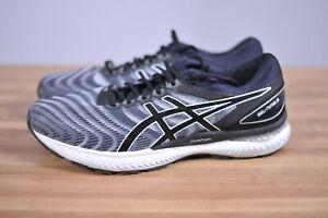 New Asics Gel-Nimbus 22 Shoes 1011A680 Black/White Men's 13