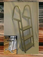3-Step Boat Dock Deck Swim Raft Aluminum Ladder