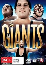 WWE True Giants (DVD, 2016, 3-Disc Set) BRAND NEW SEALED