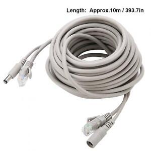 CCTV Cable Video Surveillance Camera Ethernet Network DC Lot Network Extension