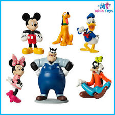 Disney Mickey Mouse Clubhouse 6 piece Figure Play Set cake topper brand new