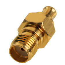 SMA Female Jack To MCX Male Plug Pin RF Coaxial Adapter Converter