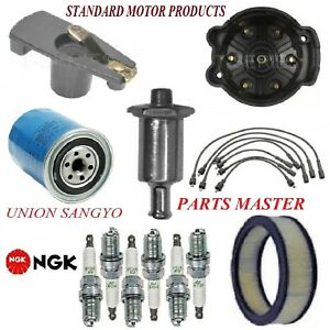 Tune Up Kit Filters Cap Plugs Wire For FORD GRANADA L6 3.3L;1bbl.;Exc. Ghia 1976