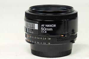 Nikon AF 50mm f1.8 Lens MADE IN JAPAN!