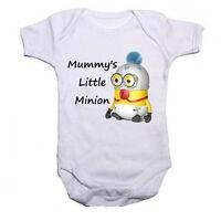 Mummys Little Minion Funny Baby/Toddler Vest Newborn Gift - Bodysuit/Grow