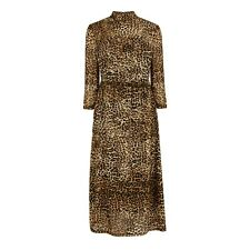 BNWT Warehouse Size 14 Leopard Print Mesh Dress Midi