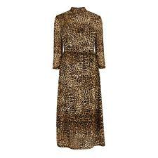 BNWT Warehouse Size 14 Leopard Print Mesh Dress Midi