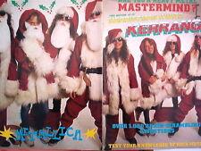 """METALLICA Santas Centerfold magazine POSTER  17x11"""""""