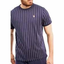 Fila Mens Guilo Stripe T-Shirt (Navy)