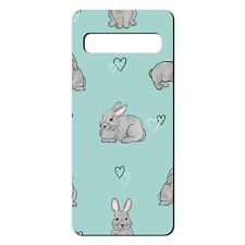 For Samsung Galaxy S10 PLUS Silicone Case Bunny Rabbit Pattern - S8812