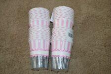 Lot of 32 Sweet Baby Feet Pink 9 oz Hot/Cold Cups 8 Per Pack Shower Party